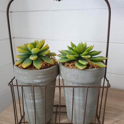 Pannier pots décoratif